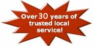 over 30 years of trusted local service