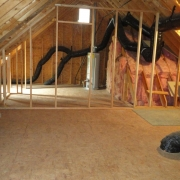 walk-up attic